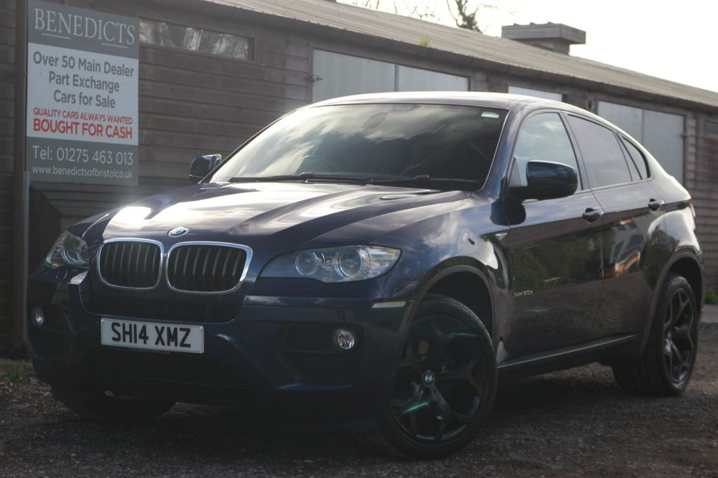 USED 2014 14 BMW X6 3.0 XDRIVE30D 4d 241 BHP