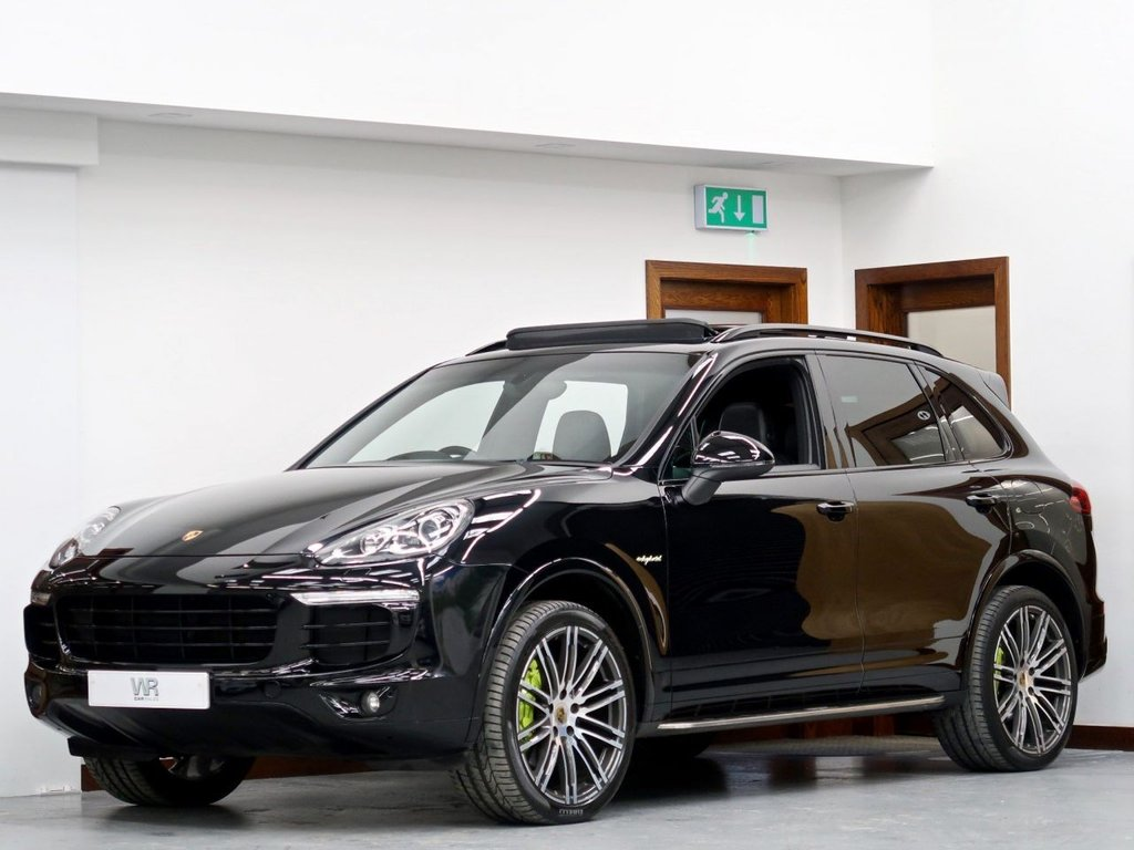 USED 2016 66 PORSCHE CAYENNE 3.0 E-Hybrid S Platinum Edition Tiptronic 4WD (s/s) 5dr PAN ROOF + BOSE + HEATED/LTHR