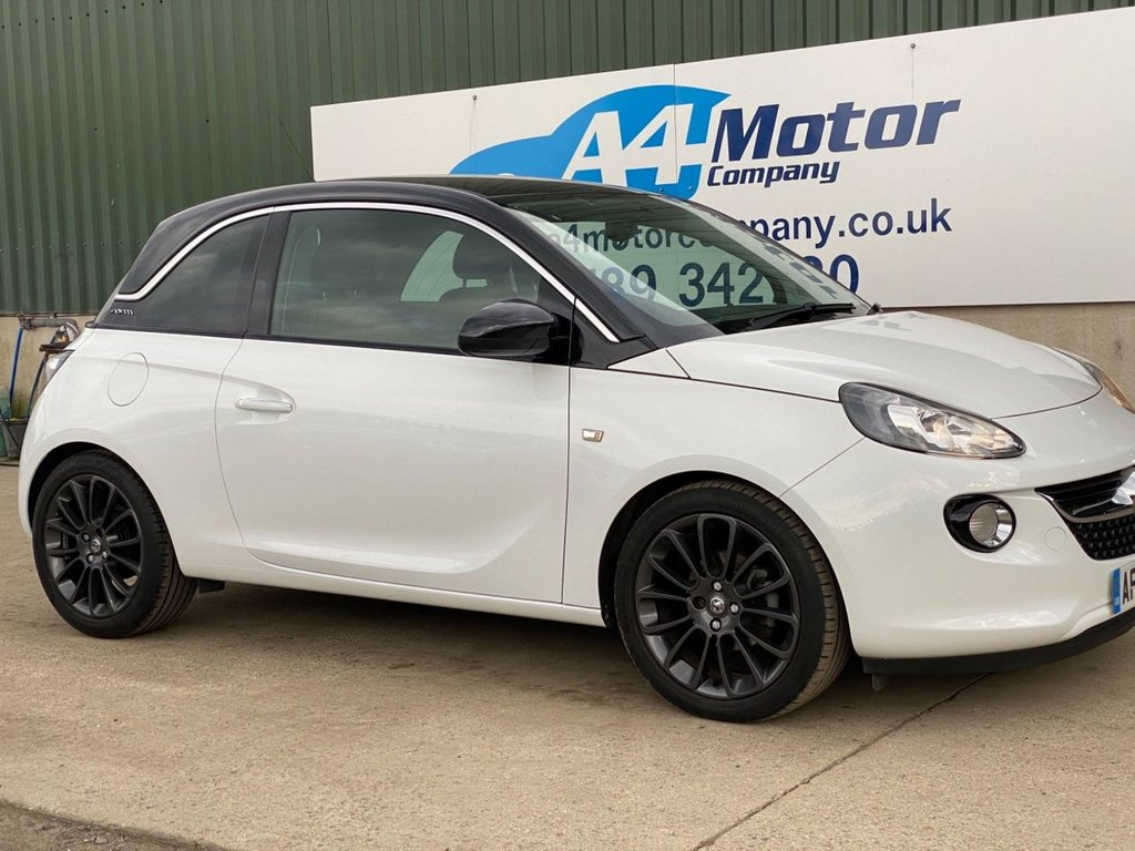 USED 2015 65 VAUXHALL ADAM 1.4i GLAM 3dr WOW!CARS LIKE NEW, LOW MILES!