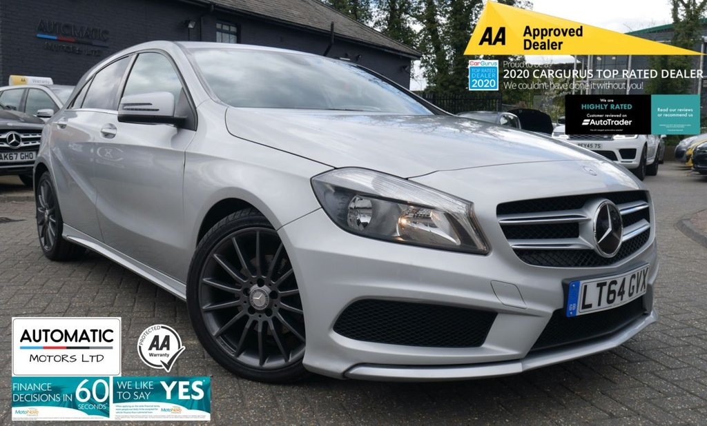 USED 2014 64 MERCEDES-BENZ A-CLASS 1.8 A200 CDI BLUEEFFICIENCY AMG SPORT 5d 136 BHP 2014 MERCEDES-BENZ A-CLASS 1.8 A200 CDI BLUEEFFICIENCY AMG SPORT 5d 136 BHP 2 KEYS BLUETOOTH NAVIGATION