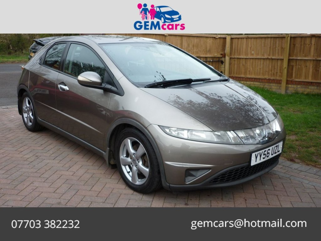 USED 2007 56 HONDA CIVIC 2.2 SE I-CTDI  5d 139 BHP GO TO OUR WEBSITE TO WATCH A FULL WALKROUND VIDEO
