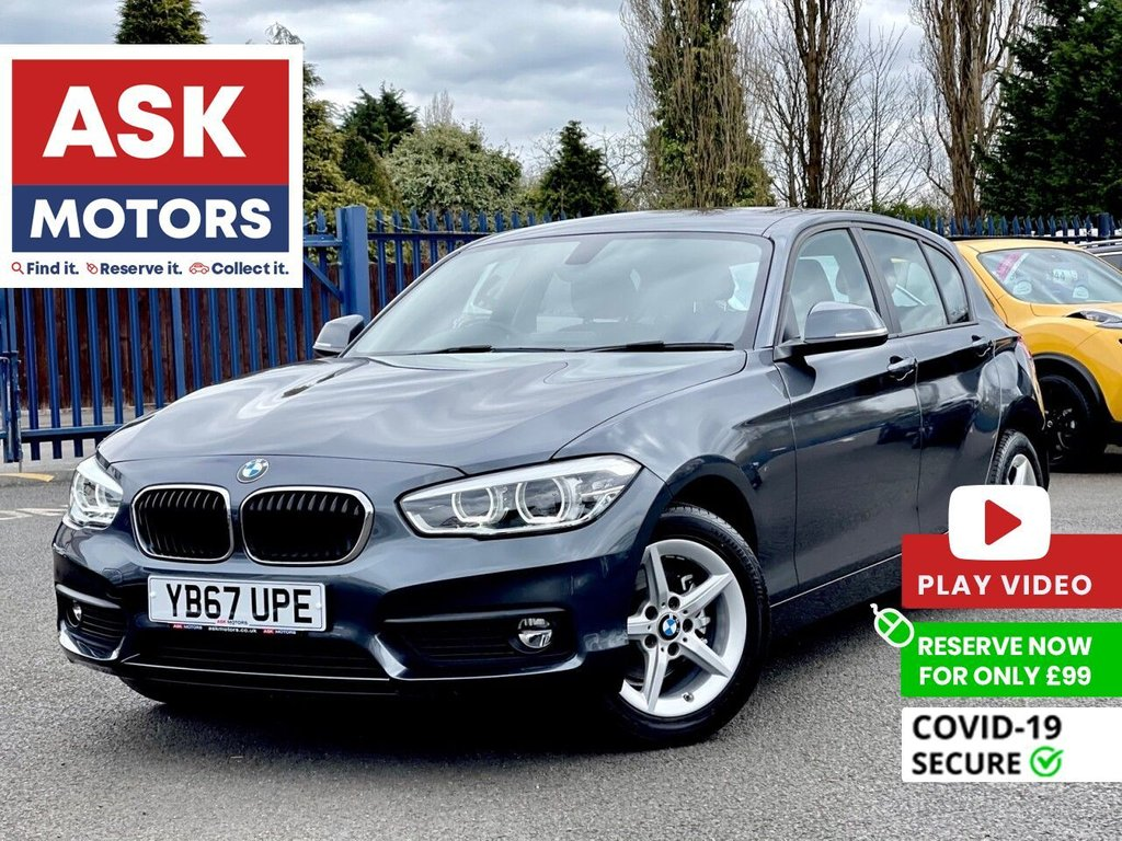 USED 2018 67 BMW 1 SERIES 1.5 116D SE BUSINESS 5d 114 BHP SATNAV