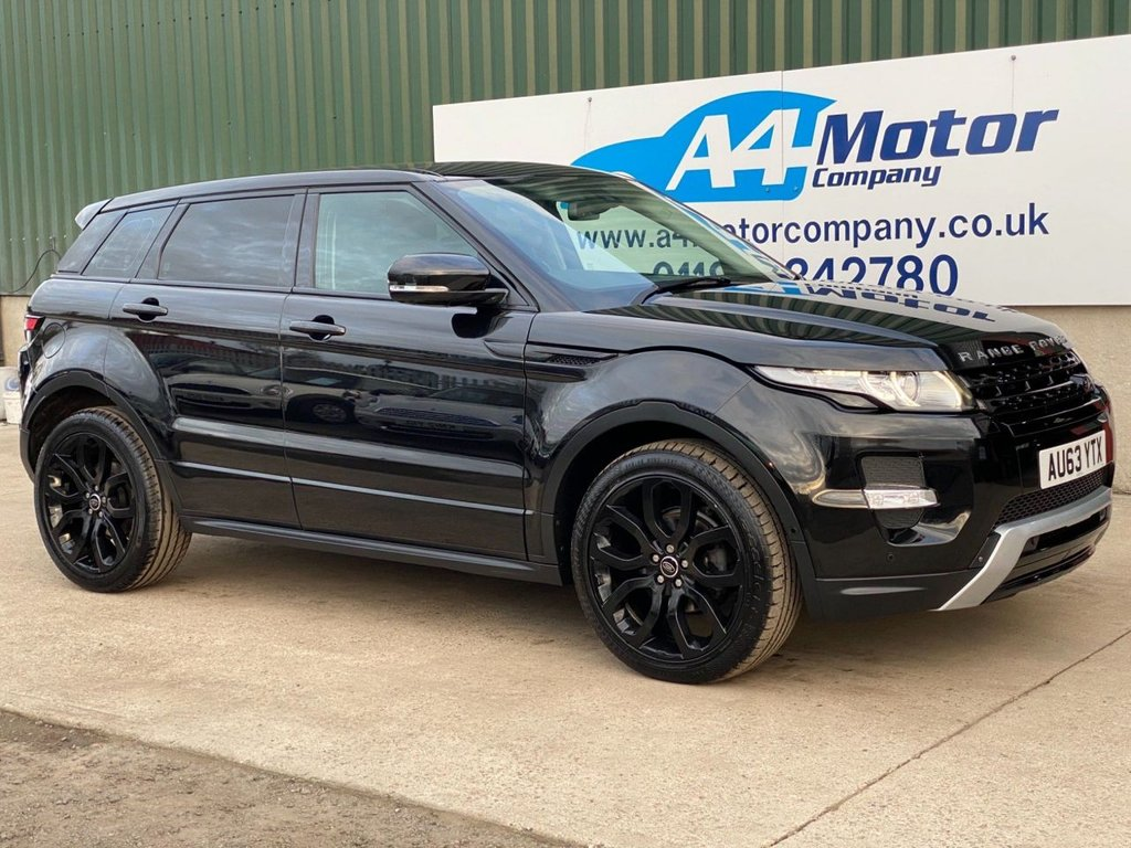USED 2013 63 LAND ROVER RANGE ROVER EVOQUE 2.2 SD4 Dynamic Lux AWD 5dr SAT -NAV ,PANORAMIC GLASS ROOF