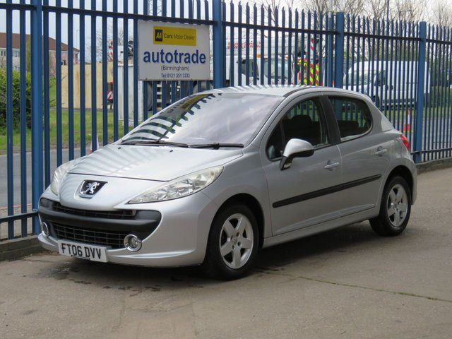 USED 2006 06 PEUGEOT 207 1.4 SPORT 5d 89 BHP Air conditioning & CD player