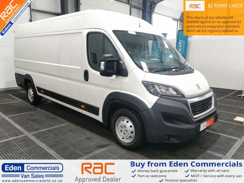USED 2019 68 PEUGEOT BOXER 2.0 BLUE HDI 435 L4H2 PROFESSIONAL