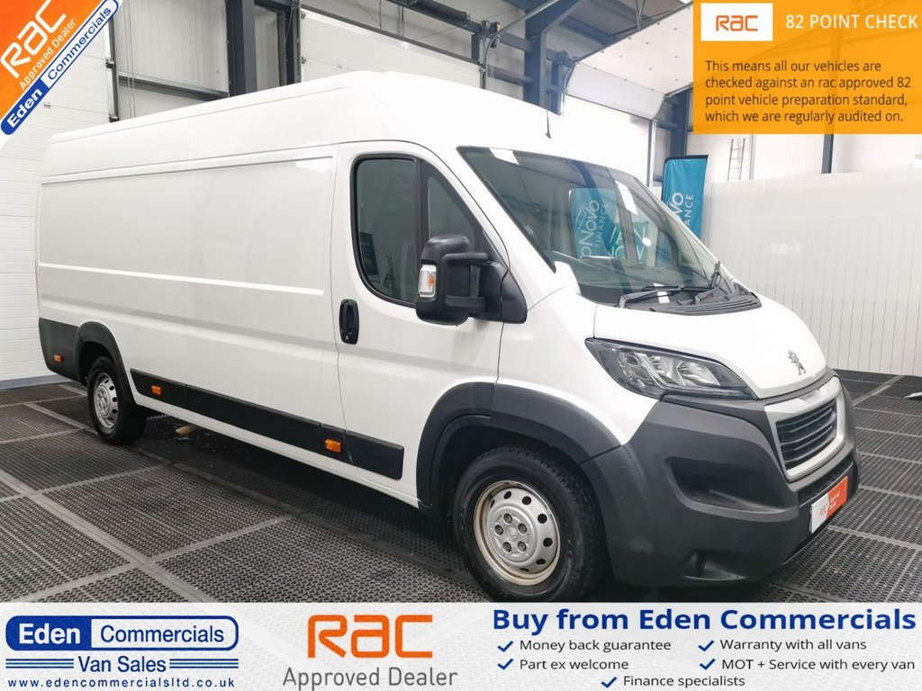 USED 2019 68 PEUGEOT BOXER 2.0 BLUE HDI 435 L4H2 PROFESSIONAL * AIR CON + SAT NAV +