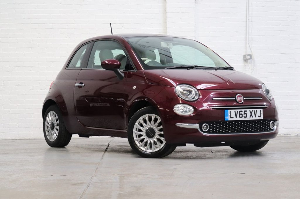 USED 2015 65 FIAT 500 1.2 LOUNGE 3d 69 BHP 1 Owner + Full Fiat History