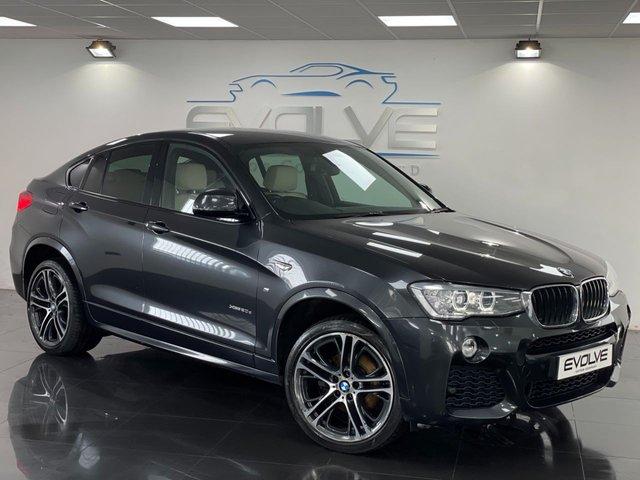 2016 16 BMW X4 2.0 XDRIVE20D M SPORT 4d 188 BHP
