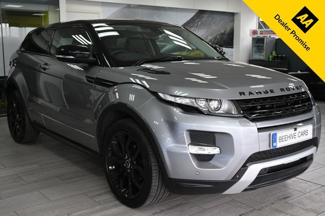 USED 2012 12 LAND ROVER RANGE ROVER EVOQUE 2.2 SD4 DYNAMIC LUX 3d 190 BHP