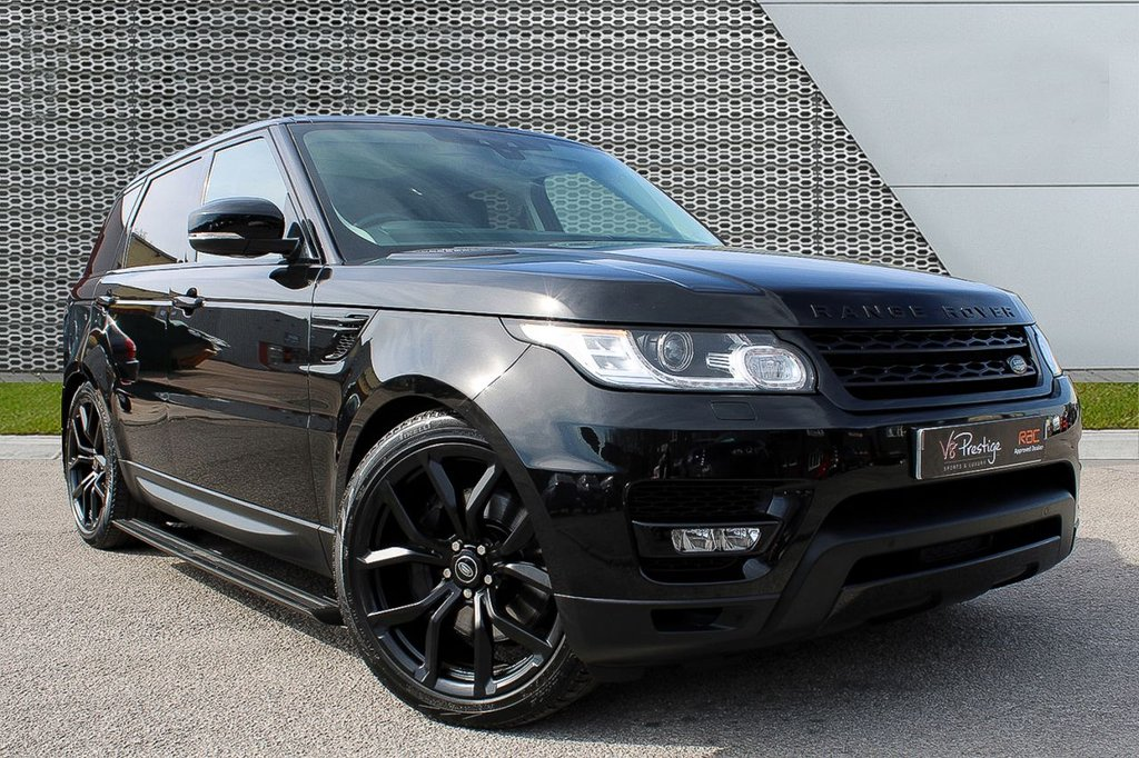 "USED 2017 67 LAND ROVER RANGE ROVER SPORT 3.0 SDV6 HSE 5d 306 BHP *BLACK PACK/22"" ALLOYS/P-ROOF*"