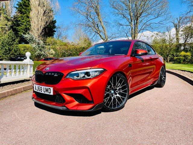 2018 68 BMW M2 3.0L M2 COMPETITION 2d 405 BHP