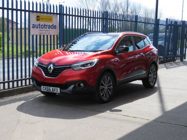 USED 2016 66 RENAULT KADJAR 1.6 SIGNATURE NAV DCI 5d 130 BHP SatNav,Panoramic Sunroof,Part Leather,Parking Sensors,Rear Privacy Glass