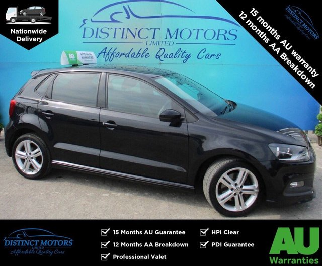 USED 2013 63 VOLKSWAGEN POLO 1.2 R LINE TSI 5d 104 BHP