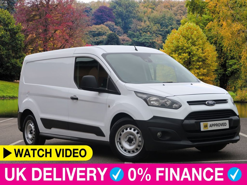 USED 2015 15 FORD TRANSIT CONNECT 1.6 TDCi LWB L2 240 Heavy Weight Long Van 5dr Long Wheel Base Heavy Load Van