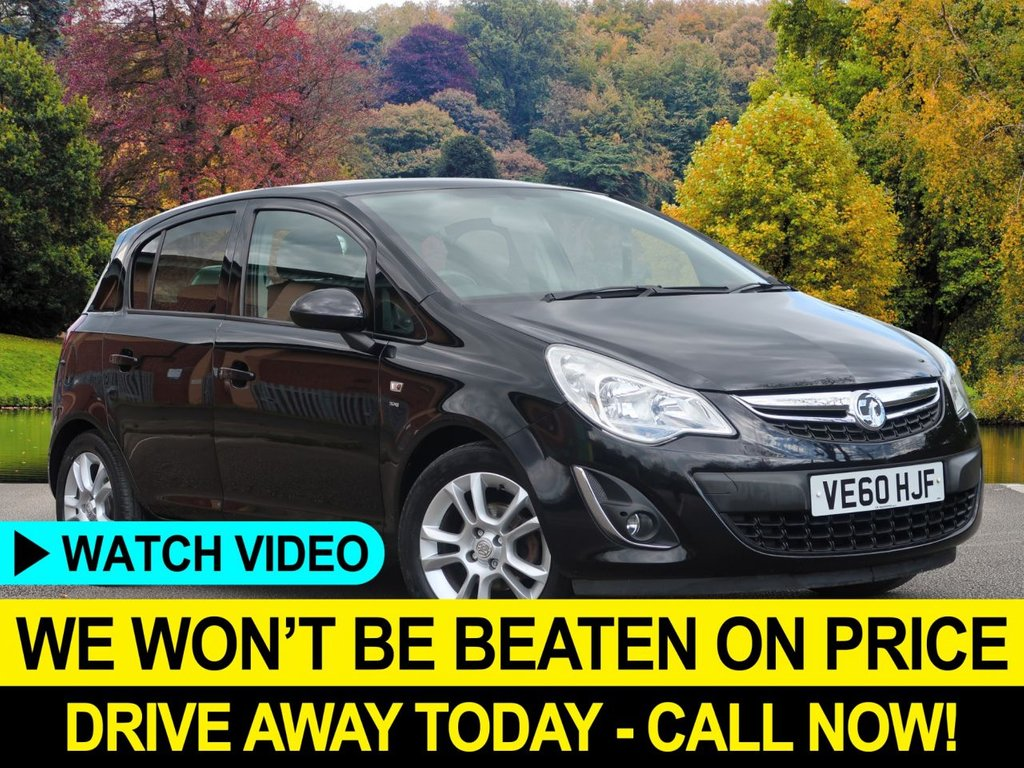 USED 2011 60 VAUXHALL CORSA 1.4 SXI AC 5dr 98 BHP Air Con Very Low Mileage