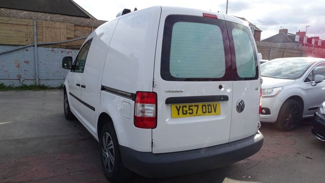 USED 2007 57 VOLKSWAGEN CADDY 2.0 C20 SDI 68 BHP TEMPRATURE CONTROLLED CLEAN