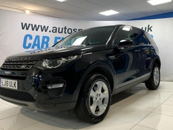 2018 LAND ROVER DISCOVERY SPORT 2.0 ED4 SE TECH 5d 150 BHP £21500.00