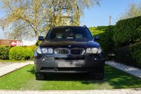 USED 2004 04 BMW X3 2.5 SPORT 5d 190 BHP HIGH SPEC, IVORY DAKOTA LEATHER, SAT NAV DIGITAL TV, BLUETOOTH