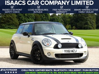 2011 MINI HATCH COOPER 1.6 COOPER S 3d 184 BHP £7245.00