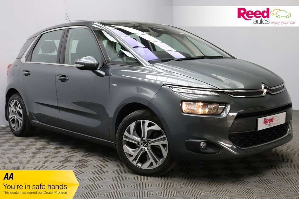 USED 2015 15 CITROEN C4 PICASSO 1.6 E-HDI EXCLUSIVE ETG6 5d 113 BHP 1 FORMER KEEPER+FULL SERV HIST+NAV+PSENSOR+PAN ACOUSTIC WINDSCREEN