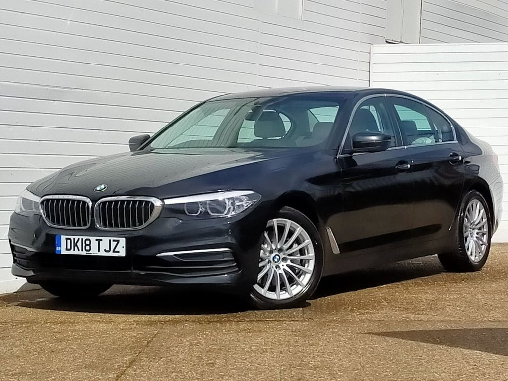 USED 2018 18 BMW 5 SERIES 2.0 530I SE 4d 248 BHP Buy Online Moneyback Guarantee