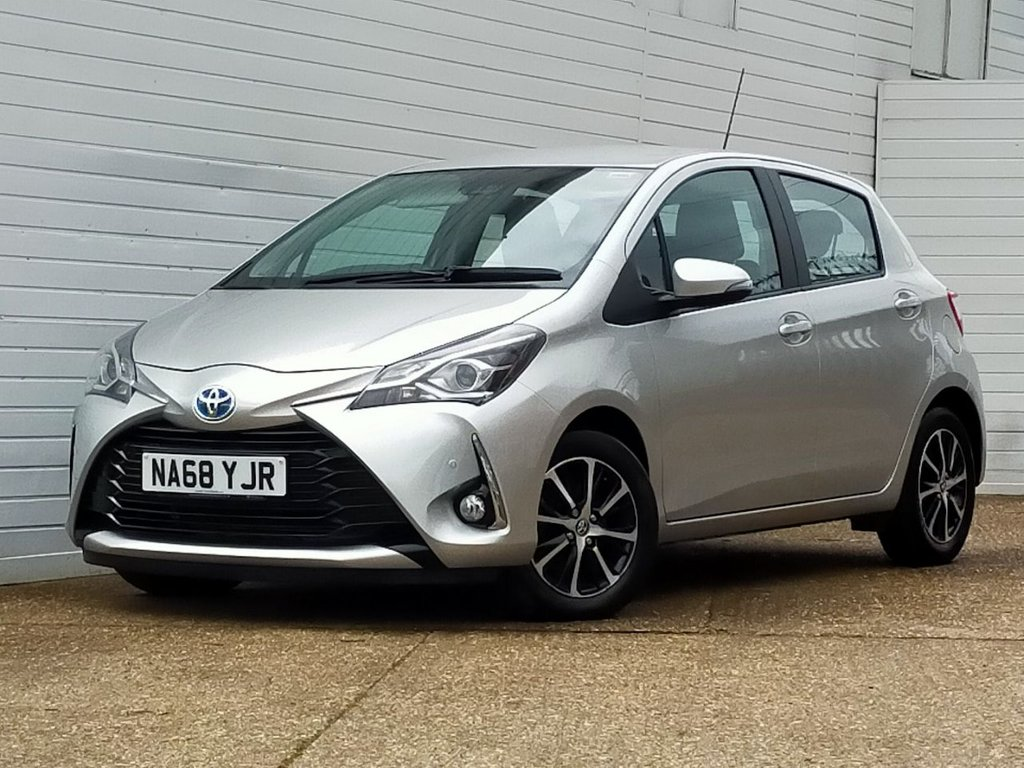 USED 2018 68 TOYOTA YARIS 1.5 VVT-I ICON TECH 5d 135 BHP Buy Online Moneyback Guarantee
