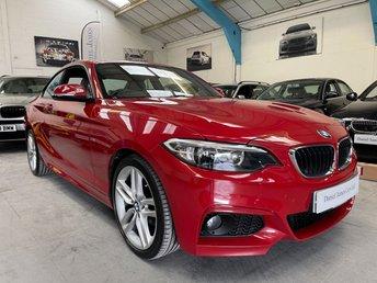 2015 BMW 2 SERIES 2.0 218D M SPORT 2d 148 BHP £11990.00