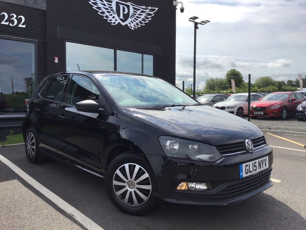 USED 2015 15 VOLKSWAGEN POLO 1.0 S AC 5d 60 BHP