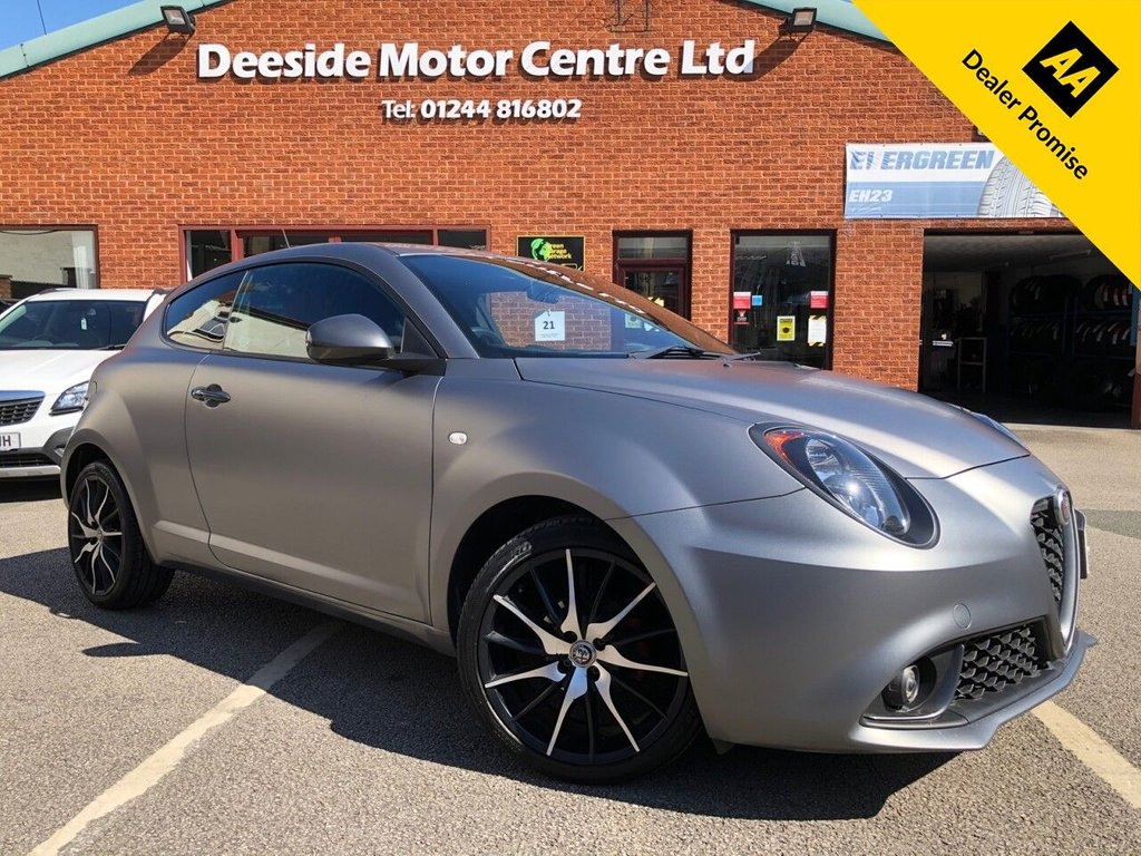 USED 2018 67 ALFA ROMEO MITO 0.9 TWINAIR SPECIALE 3d 105 BHP Alfa service history :  Bluetooth  :  Sat Nav  :  DAB Radio  :  Leather upholstery  :  Isofix fittings  :         Air-conditioning/Climate control    :    Cruise control    :    Alfa Romeo DNA System    :        Rear parking sensors   :   Rear parcel shelf