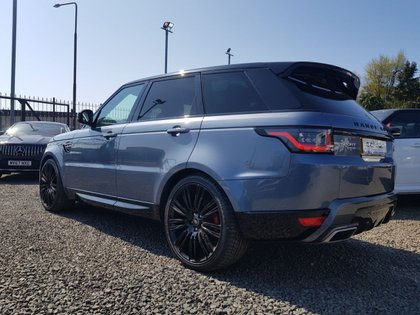 USED 2018 67 LAND ROVER RANGE ROVER SPORT 3.0 SDV6 HSE 5d 306 BHP