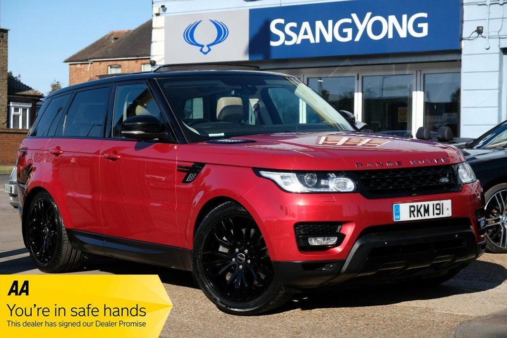 USED 2014 14 LAND ROVER RANGE ROVER SPORT 3.0 SDV6 HSE DYNAMIC 5d 288 BHP AVAILABLE FOR £499 PER MONTH £0 DEPOSIT