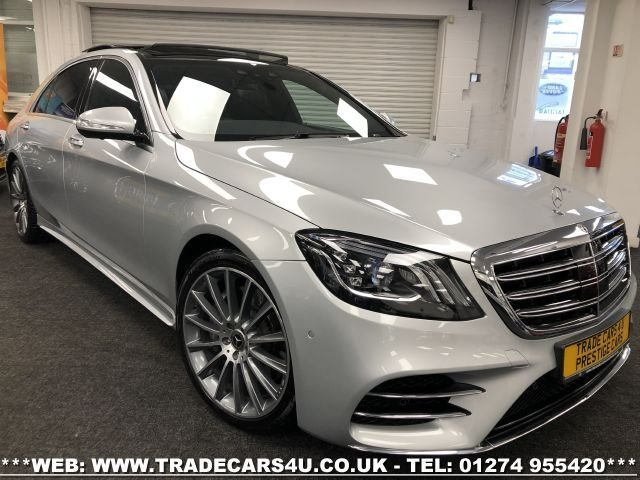 USED 2018 18 MERCEDES-BENZ S-CLASS 2.9 S 350 D L AMG LINE EXECUTIVE PREMIUM PLUS 4d 282 BHP FREE UK DELIVERY*VIDEO AVAILABLE* FINANCE ARRANGED* PART EX*HPI CLEAR