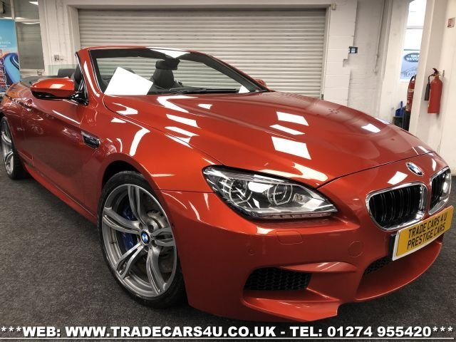 USED 2013 13 BMW M6 4.4 M6 2d 560 BHP FREE UK DELIVERY*VIDEO AVAILABLE* FINANCE ARRANGED* PART EX*HPI CLEAR