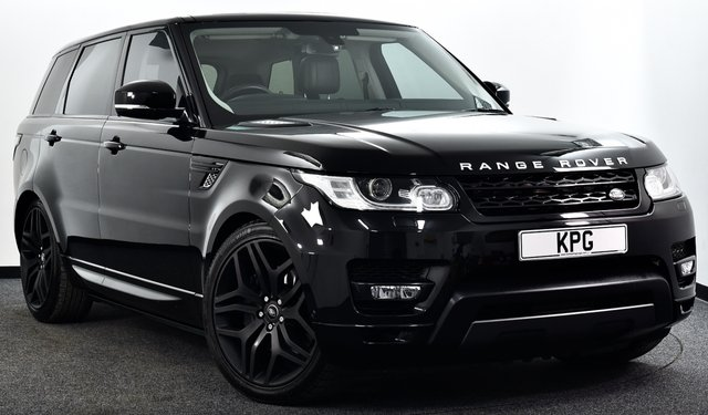 USED 2016 66 LAND ROVER RANGE ROVER SPORT 3.0 SD V6 HSE Dynamic CommandShift 2 4X4 (s/s) 5dr £10k Extras, Pan Roof, D/Steps