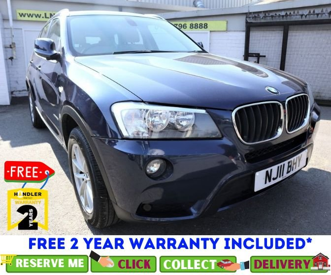USED 2011 11 BMW X3 2.0 XDRIVE20D SE 5d AUTO 181 BHP *CLICK & COLLECT OR DELIVERY *