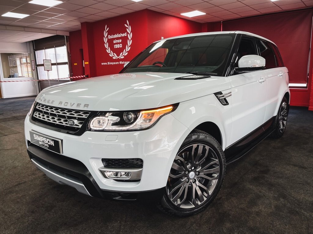 USED 2017 66 LAND ROVER RANGE ROVER SPORT 3.0 SDV6 HSE 5d 306 BHP
