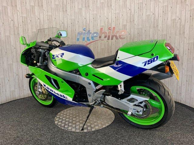 KAWASAKI ZXR750 at Rite Bike