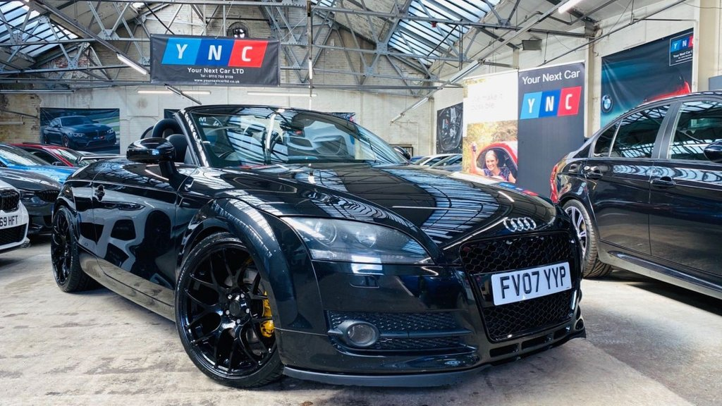 USED 2007 07 AUDI TT 2.0 T Roadster 2dr RSTYLING+19S+SERVICEHISTORY