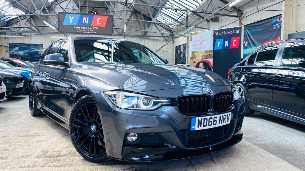 USED 2017 66 BMW 3 SERIES 3.0 330d M Sport Auto (s/s) 4dr PERFORMANCEKIT+MPLUSBRAKES+WOW