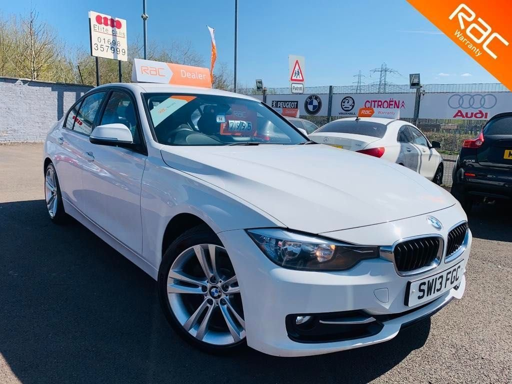USED 2013 13 BMW 3 SERIES 2.0 318d Sport (s/s) 4dr 12 months Nationwide warranty