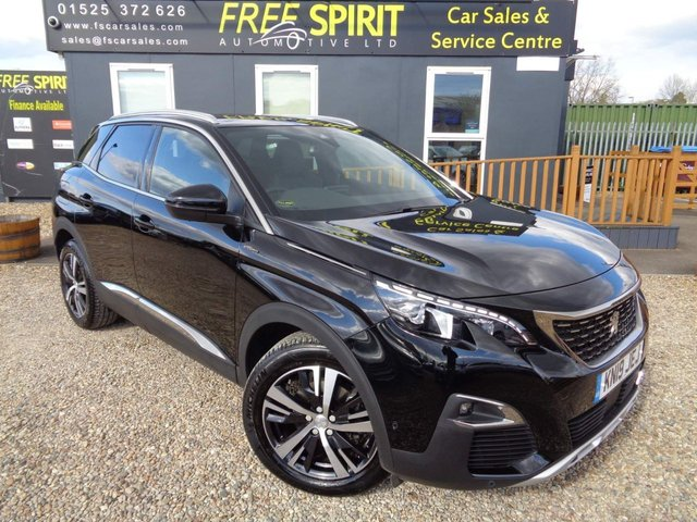 USED 2019 19 PEUGEOT 3008 1.5 BlueHDi GT Line EAT (s/s) 5dr Nav, Bluetooth, Rear Cam, AUTO