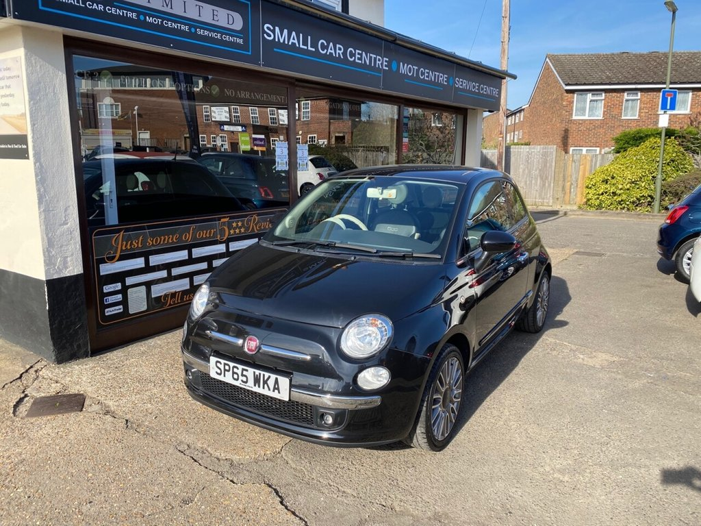 USED 2015 65 FIAT 500 1.2 CULT 3d 69 BHP BLUETOOTH - DAB - USB - AUX - AIRCON - FULL LEATHER