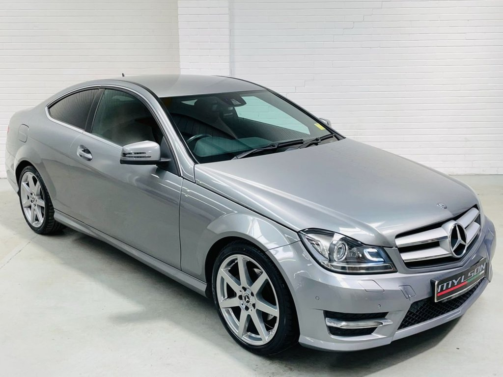 USED 2012 62 MERCEDES-BENZ C-CLASS 2.1 C250 CDI BLUEEFFICIENCY AMG SPORT 2d 204 BHP Heated/Cooled Seats|Red Leather|AA Inspected