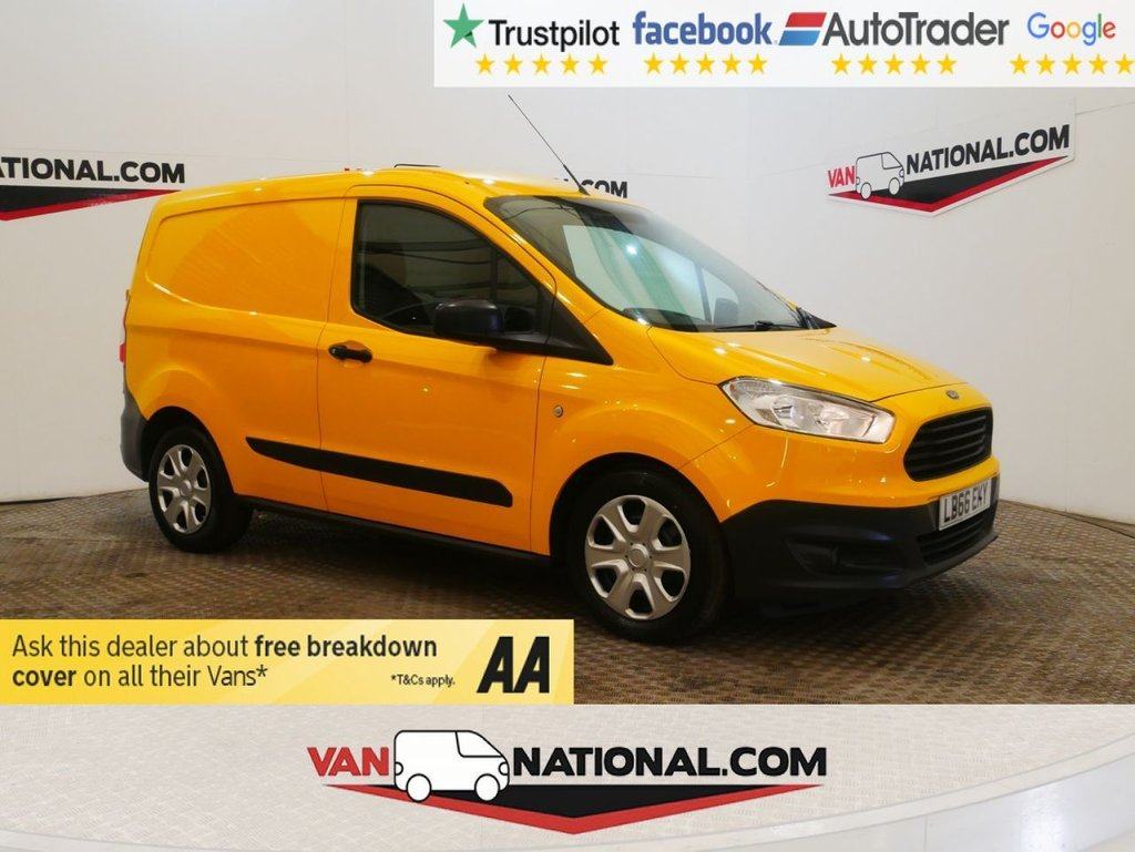 USED 2017 66 FORD TRANSIT COURIER 1.5 TREND TDCI 95 BHP WWW.VANNATIONAL.COM