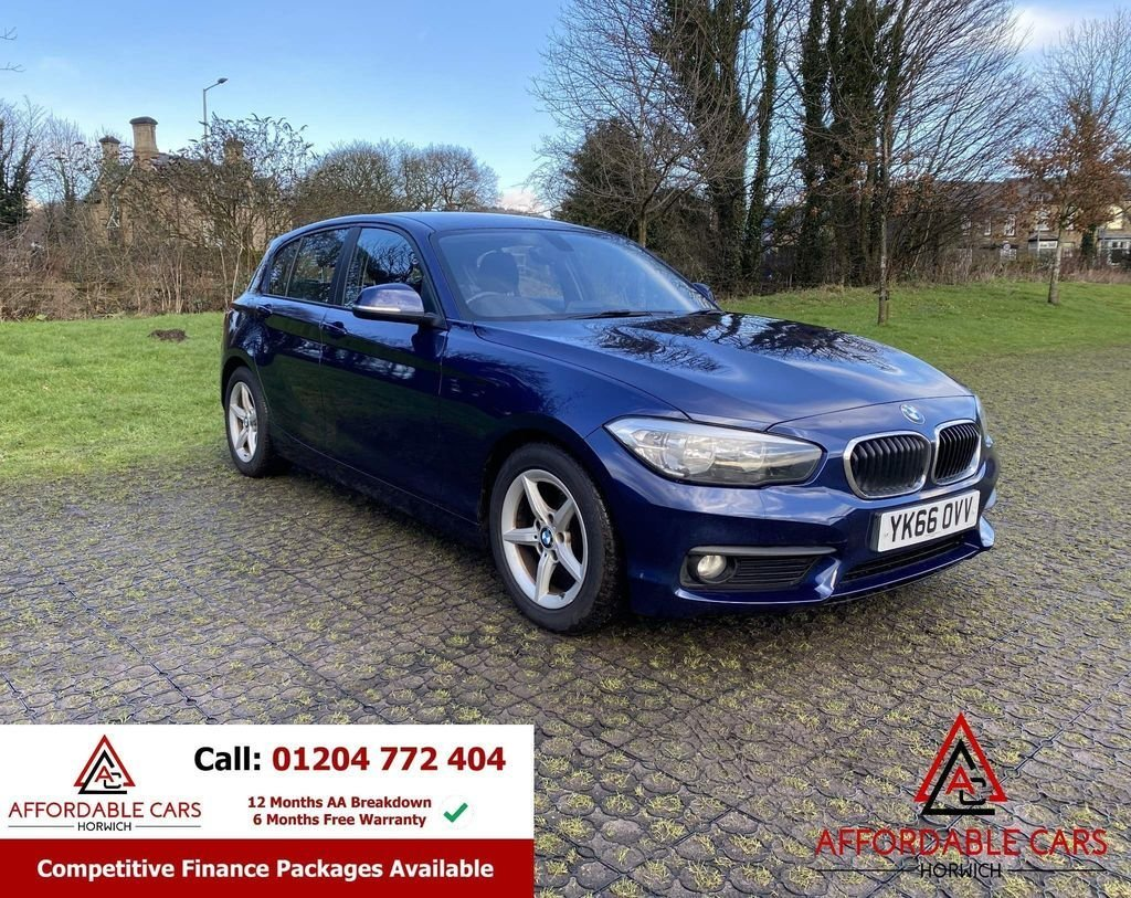 USED 2016 66 BMW 1 SERIES 1.5 116D ED PLUS 5d 114 BHP Free Nationwide Delivery