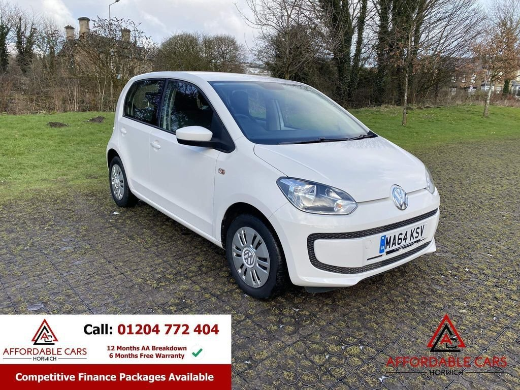 USED 2014 64 VOLKSWAGEN UP 1.0 MOVE UP 5d 59 BHP Full Service History, 2 Keys