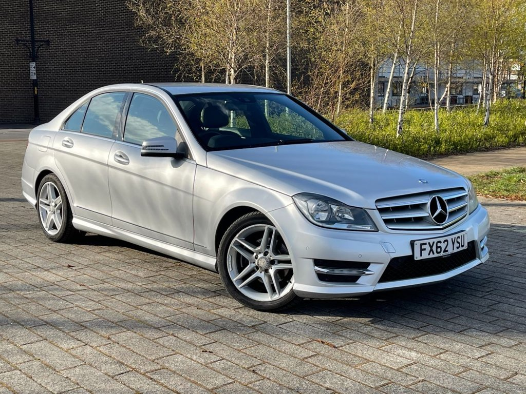 USED 2012 62 MERCEDES-BENZ C-CLASS 2.1 C220 CDI BLUEEFFICIENCY AMG SPORT 4d 168 BHP