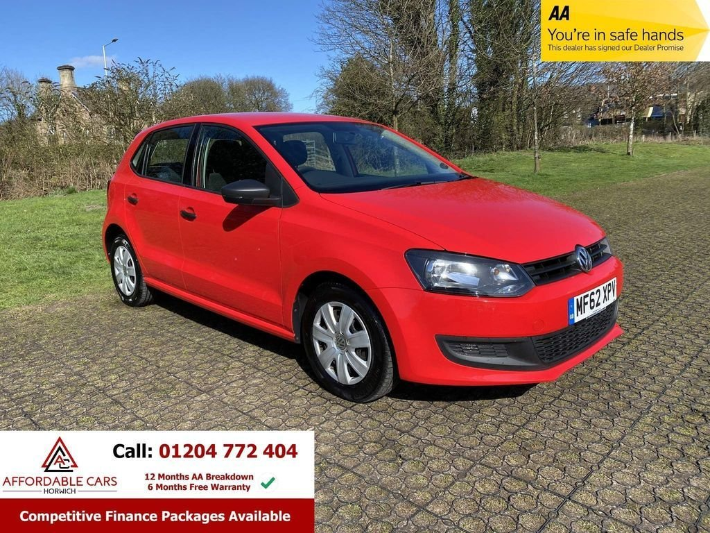 USED 2012 62 VOLKSWAGEN POLO 1.2 S A/C 5d 60 BHP Free Nationwide Delivery
