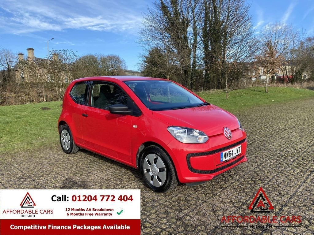 USED 2014 64 VOLKSWAGEN UP 1.0 TAKE UP 3d 59 BHP Full Service History, 2 Keys