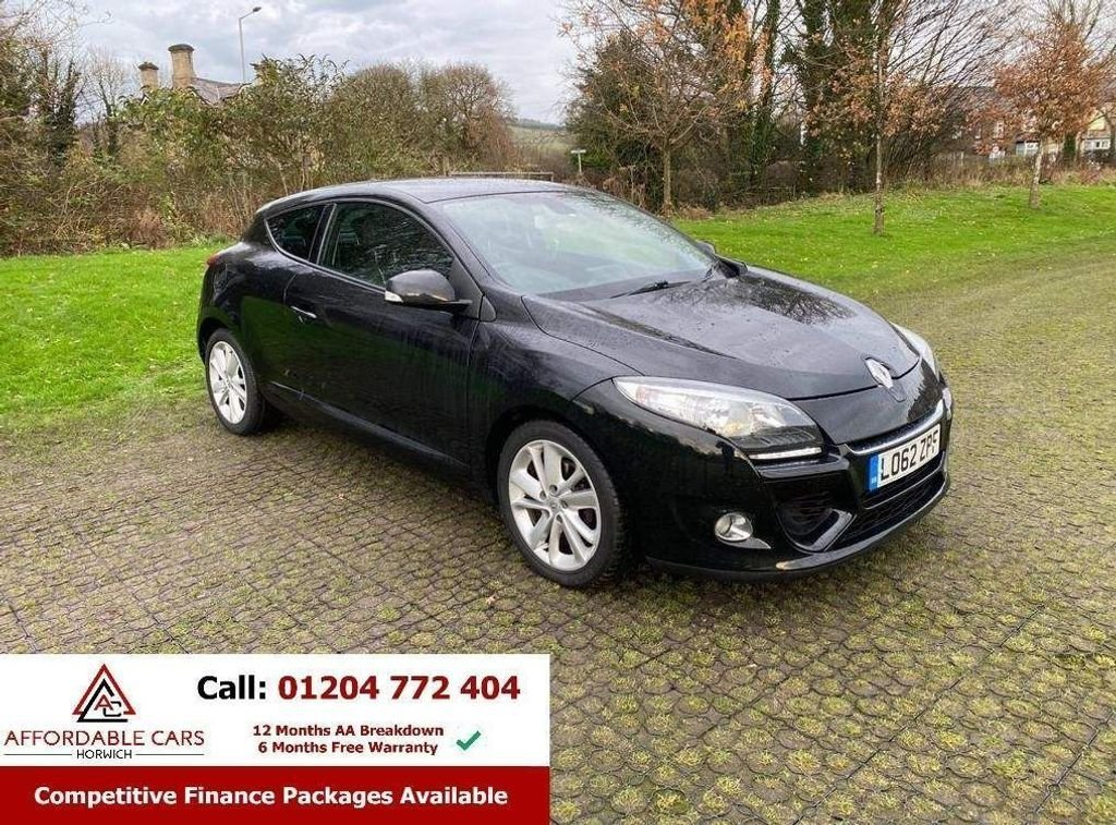 USED 2012 62 RENAULT MEGANE 1.5 DYNAMIQUE TOMTOM ENERGY DCI S/S 3d 110 BHP FREE NATIONWIDE DELIVERY.